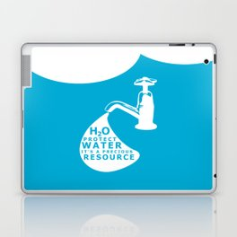 WATER CONSERVATION Laptop & iPad Skin