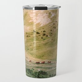 Stallions & Mares in the Valley Travel Mug