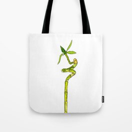 Bamboo Cartoon Tote Bag