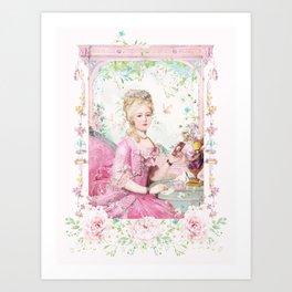 Marie Antoinette keeping in touch Art Print