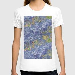Vintage Japanese floral pattern T-shirt