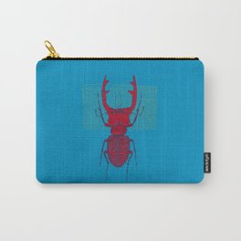 Stitches: Red stag Carry-All Pouch
