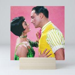 Gene Kelly & Cyd Charisse - Pink - Singin' in the Rain Mini Art Print