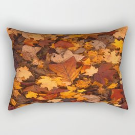 Fall Foliage Rectangular Pillow