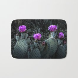 Cactus Blooming in the Anza-Borrego Desert State Park, Southern California Bath Mat