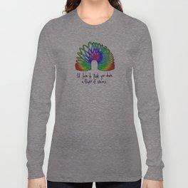 Rainbow Slinky Long Sleeve T-shirt