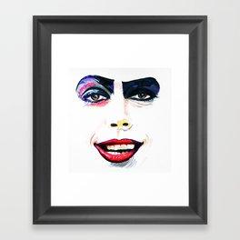 Dr. Frank-N-Furter Framed Art Print