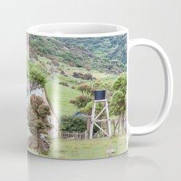 Cottage at Flea Bay, Akaroa, New Zealand Coffee Mug