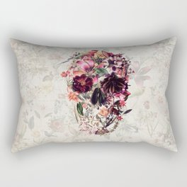 New Skull 2 Rectangular Pillow