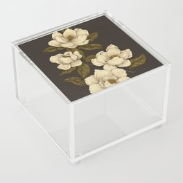 Magnolias Acrylic Box