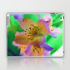 Purple Flowers - Watercolour Painting Laptop & iPad Skin