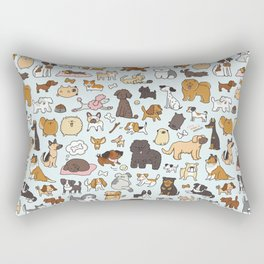 Doggy Doodle Rectangular Pillow