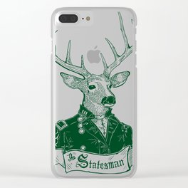 The Statesman Clear iPhone Case