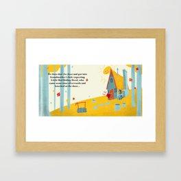 Little Red Riding Hood - Pg 2 Framed Art Print