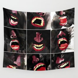 9 gritos Wall Tapestry