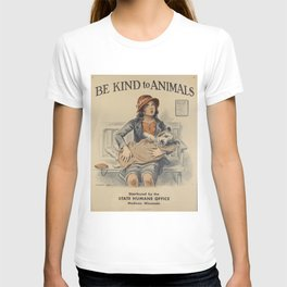Be Kind To Animals 4 T-shirt