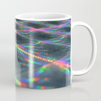 hologram Mugs featuring Laser Paper by Griffin Lauerman