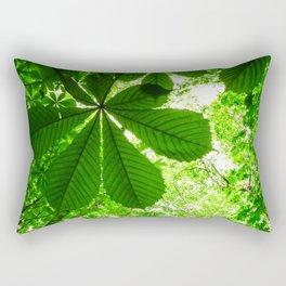 Rainforest Radiance Rectangular Pillow