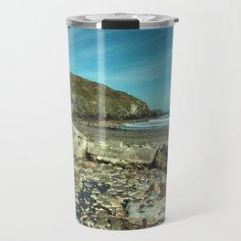 Kennack sands tank wall Travel Mug