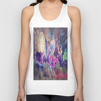 singapore Tank Tops featuring Singapore Love by Bohemian Bliss