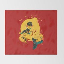 Kid Gohan Throw Blanket