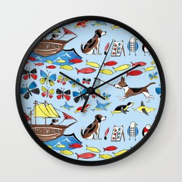 The Voyage of the Beagle Wall Clock