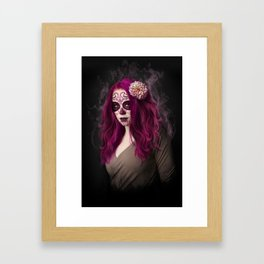 SugarSkull Queen Framed Art Print