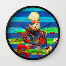 THE LITTLE LADY VI Wall Clock