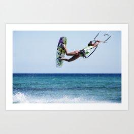 Kit Surf Art Print