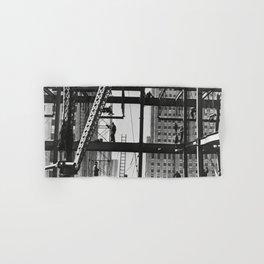 Steel workers New York City Hand & Bath Towel