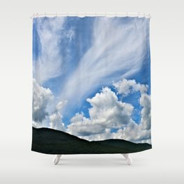 Cloud Path to the Milky Way Shower Curtain