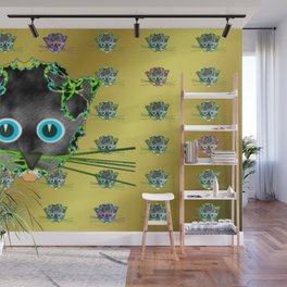 Partycats Wall Mural