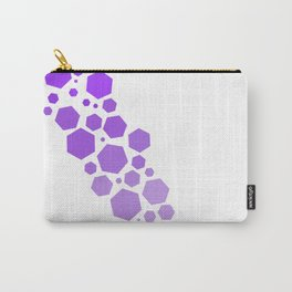 Gradient Hex Carry-All Pouch