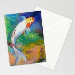 Koi Art Pirouette Stationery Cards