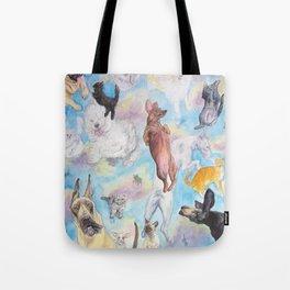 It's Raining! . . . . Tote Bag