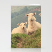 sheep Stationery Cards featuring Sheep by XXXX