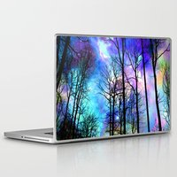 decal Laptop & iPad Skins featuring fantasy sky by haroulita