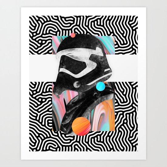 Rone Art Print