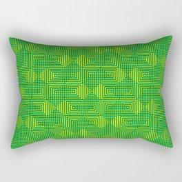 Arsenic Zest Rectangular Pillow