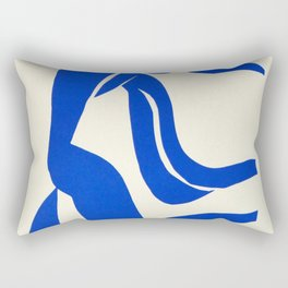 Blue Nude Dancing - Henri Matisse Rectangular Pillow
