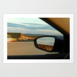 Mountains and Mirrors Art Print