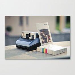 Never Ending Polaroid Canvas Print