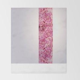 peonies Throw Blanket