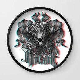 Anaglyph 3D Wall Clocks | Society6