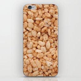 Crisped rice breakfast cereal iPhone Skin