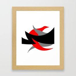 Something Abstract #1-2 Framed Art Print