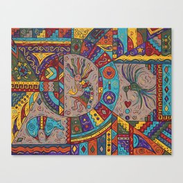 Southwestern Sampler Canvas Print