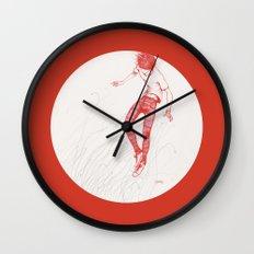 Circuitry Surgery 2 Wall Clock