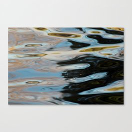 Abstract Water Surface Canvas Print