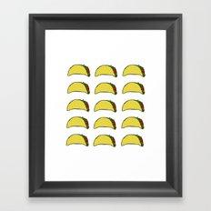 Taco Party Framed Art Print
